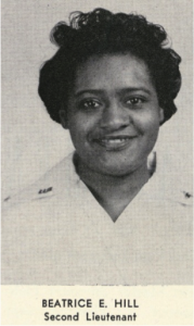 Beatrice E  Hill – Tuskegee Army Nurses Project